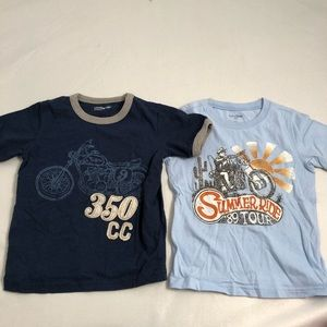 Gap blue motorcycle graphic t-shirts (2)